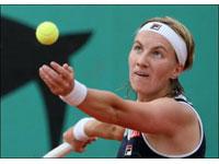 Nas quartas-de-final de Roland Garro Kuznetsova e Kanepi