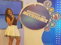 Blogueira AnnaJu Maziero vem se destacando no 'Bombou na Internet'. 26568.jpeg