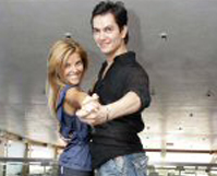 Sónia Araújo e Pedro Ricardo no Festival Eurovisão da Dança neste sábado