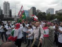 Comunidade libanesa protesta em São Paulo. 20592.jpeg