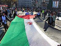 Centenas manifestaram-se pela liberdade do povo saarauí no País Basco. 34597.jpeg