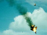 Dois caças Mig-29 colidiram em pleno vôo