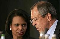 Lavrov explicou a Rice onde devem encontrar-se os observadores da OSCE