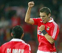 O Benfica pela primeira vez em 40 anos na fase final da Liga dos Campeões