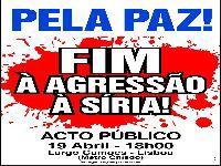 Pela Paz! Fim à agressão à Síria!. 28607.jpeg
