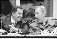 Chávez e Fidel Castro avaliaram aliança anti-americana