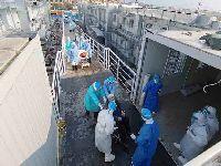 Novo hospital de Wuhan, China, recebe pacientes do coronavírus. 32610.jpeg