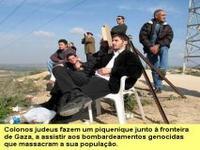 Um Israel satânico e genocida