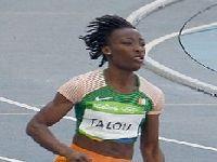 Marie Josse Ta Lou conquista o título em 100 m de atletismo de Rabat. 31619.jpeg