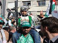 Palestinos dão o melhor de si antes de se juntarem à Academia Militar do Hamas. 29620.jpeg