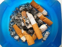 Campanha da ONU contra o cigarro, fumo e o álcool
