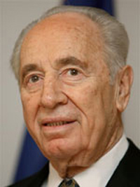 Ex-ministro dos Negócios Estrangeiros israelita Shimon Peres eleito presidente