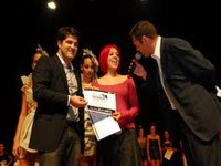 Governador de Goiás, Alcides Rodrigues na inauguração do Brasil Fashion Designers. Vicki Ribeiro vencedora.