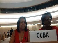 Cuba reafirma em Genebra compromisso na luta contra o racismo. 24626.jpeg