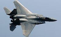 Dois caças F-15 chocaram sobre o golfo do México