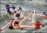 Baba Challenge — 2007 em rio Vooksa em São Petersburgo