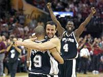 O San Antonio Spurs é  tetracampeão da NBA