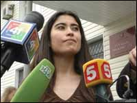 Chilena libertada, mas  condenada a uma multa de 600 dólares