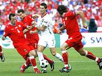 Portugal derrotou a República Checa por 3 a 1