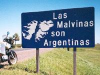 Argentina volatrá Ilhas Malvinas, diz  Kirchner