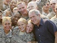 Bush  promete ajuda a Maliki e redução do contingente no Iraque