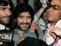 Maradona trata dos dentes na Colômbia, mas pode ser detido na Argentina