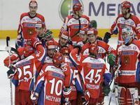 Campeonato do Mundo de Hóquei em Gelo: Rússia 3 Alemanha 2