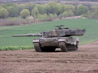 Enviados a Chile primeiros tanques alemães  Leopard
