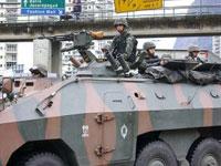 Cerca de 1,2 mil militares subiram as comunidades da Rocinha e do Vidigal