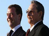 Dmitri Medvedev está confiante que a visita de Raúl Castro irá reforçar as relações bilaterais