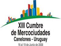Mercocidades – Canelones – Uruguai é sede da XIII Cimeira de 16 á 19