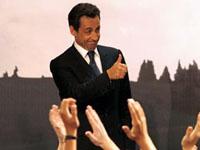 Sarkozy conquistou a maioria parlamentar ,mas não de dois terços