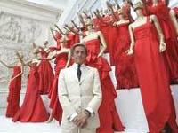 Valentino Garavani  se retira da Moda