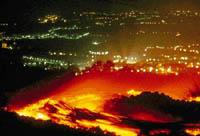 Etna  fechou o aeroporte de Catania