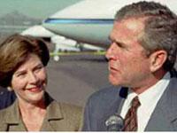 Bush na Europa tenta salvar o Ocidente do colapso
