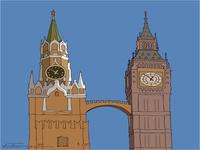 Rússia e Reino Unido: Melhoria de relações bilaterais