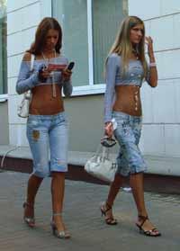 Mulheres mais belas do mundo nas ruas de Stockholm, Suíça