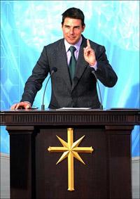 Tom Cruise virou padre da Igreja da Cientologia