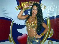 Letícia Guimarães é a nova rainha de bateria da Inocentes de Belford Roxo. 24698.jpeg
