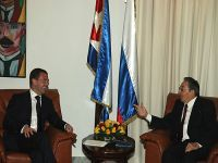 Visita de Raul Castro à Rússia