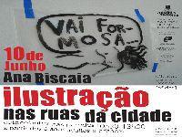 Ilustração no TCSB, com Ana Biscaia: