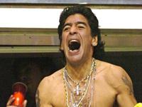 """Maradona: """"Vou correr nu se Argentina ganhar"""""""