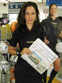 Federação aconselha a Ana Paula Oliveira tomar cuidado com algumas poses