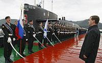 Medvedev  modernizará  as Forças Armadas da Rússia