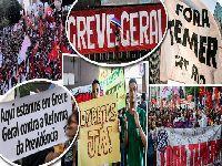 Centrais convocam greve geral contra a reforma da previdência. 27740.jpeg