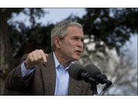 Bush deseja trabalhar com Medvedev vencedor das eleições presidenciais russas