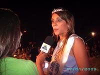 Ma Fernanda Laurencena é Rainha do Carnaval Uruguaio 2009