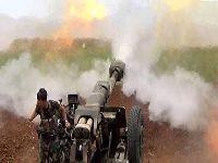 O exército sírio ataca os grupos terroristas. 34748.jpeg