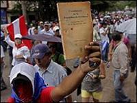 Honduras: Cresce tensão à medida que prolonga-se a crise