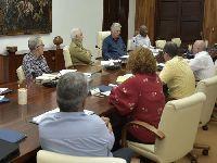 Presidente Diaz-Canel examina programas fundamentais para o desenvolvimento do país. 28763.jpeg